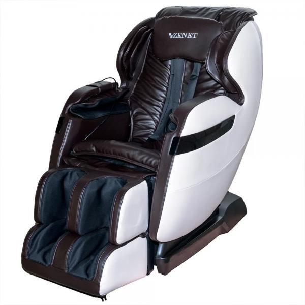 Купить Массажное кресло ZENET ZET 1530 коричневое