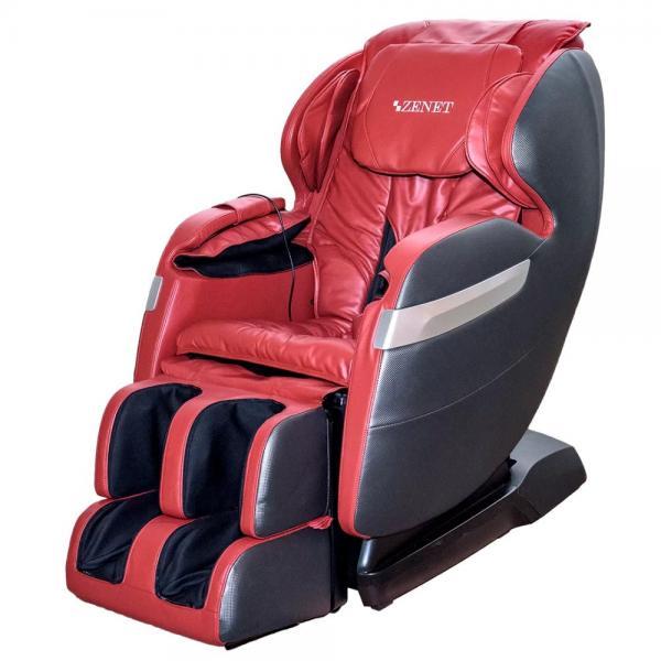 Купить Массажное кресло ZENET ZET 1530 вишневое