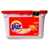 Купити Гелеві капсули для прання кольорової і білої білизни Vizir 23 шт.