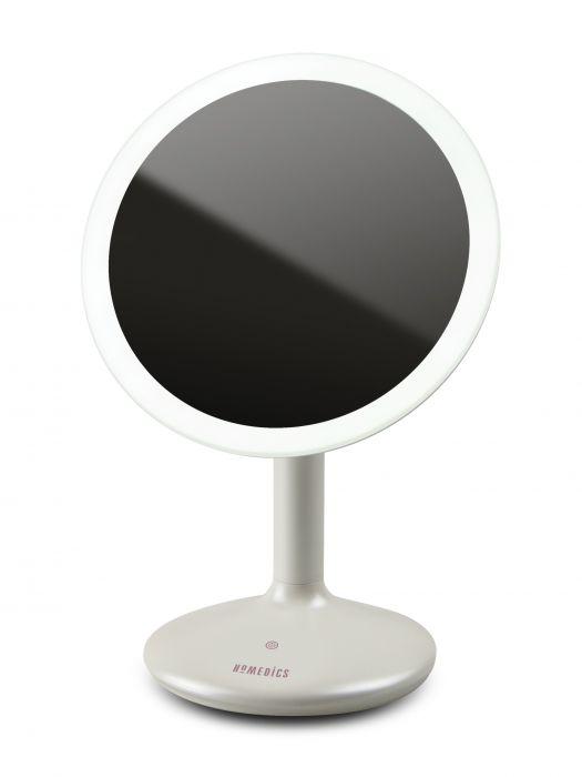 Купить Косметическое зеркало сенсорное 5х увеличение с регулируемой подсветкой Touch&Glow HoMedics MIR-SR820-EU