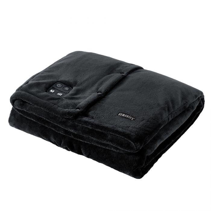 Купить Беспроводное вибрационное одеяло с прогревом HoMedics Comfort Pro HCM-TRW210HBK-EU