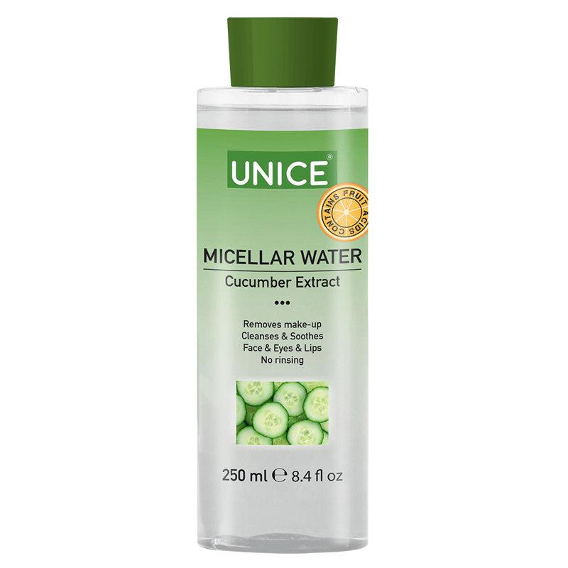Купить Мицеллярная вода с экстрактом огурца, 250 мл
