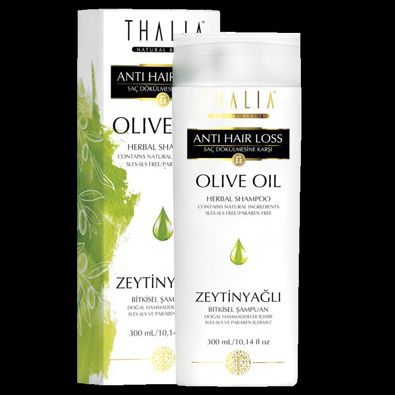Купити Шампунь з оливковою олією для слабкого і сухого волосся THALIA, 300 мл