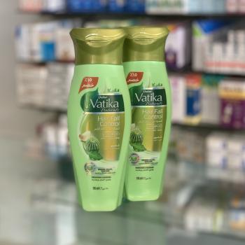 Купить Шампунь Vatika Naturals против выпадения волос с экстрактом кактуса, чеснока и рукколы