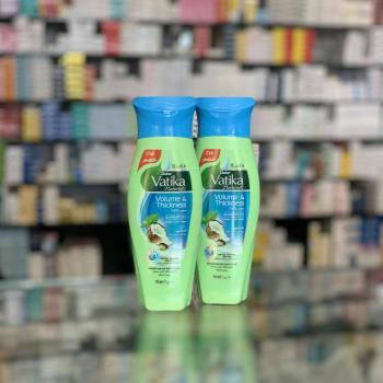 Купить Шампунь Vatika для объёма волос экстрактом кокоса, касторового масла и хны