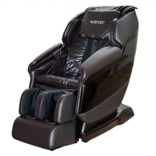 Купить Массажное кресло ZENET ZET 1550 коричневое