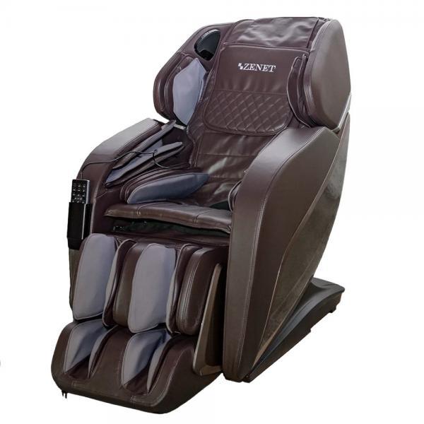 Купить Массажное кресло ZENET ZET 1690 коричневое